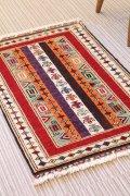 NO23666 手織り トルコ絨毯