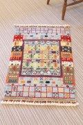 NO24041 手織り トルコ絨毯