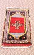 NO1201 手織り トルコ絨毯