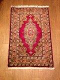 NO1451 手織り 絨毯 厚めのマットタイプ