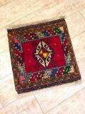 NO0441 手織り 絨毯 厚めのマットタイプ