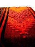 画像5: 手織り キリムの木製椅子 オットマン (5)