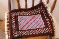 手織りトルコ絨毯 : 座布団サイズ NO28443