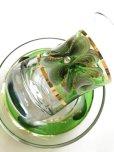 画像4: 手描き お花柄 チャイグラス&ソーサー (4)