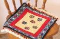 手織りトルコ絨毯 : 座布団サイズ NO28435