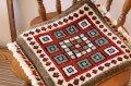 手織りトルコ絨毯 : 座布団サイズ NO27466