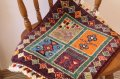 手織りトルコ絨毯 : 座布団サイズ NO28500